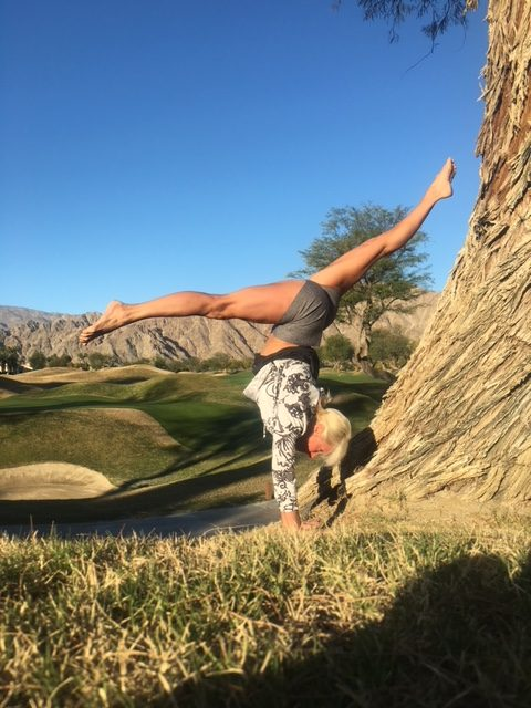 Yoga at PGA West Stadium Course