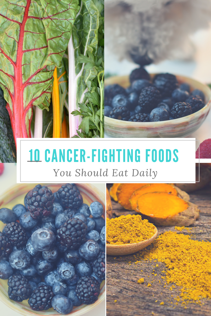 10 Cancer Fighting Foods