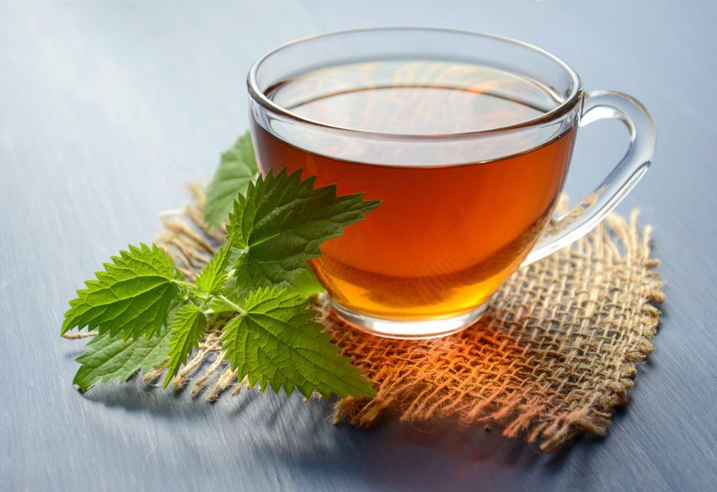 Peppermint Tea in Teacup